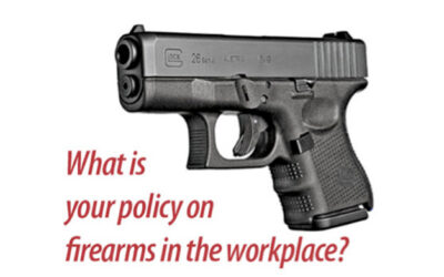 Packin' Heat: The dilemma of guns in the workplace